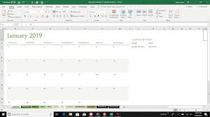 Calendar Excel Template How To Make A Calendar In Excel