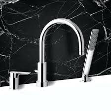 roman bathtub faucet with hand shower delta two handle repair