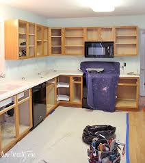 Kitchen Cabinet Resurfacing Kit Extraordinary Kitchen Cabinet Makeover Reveal