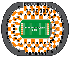 Dobyns Bennett Football Stadium Seating Chart What Color To Wear For Checkerneyland