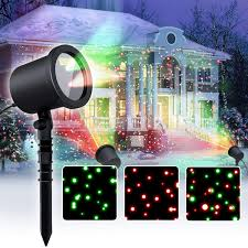 Christmas Light Show Pictures Star Laser Christmas Light Show Outdoor Decorations Waterproof Landscape Lighting