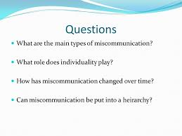 by stefan a ciancio introduction different types of cultural  questions what are the main types of miscommunication