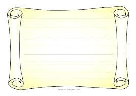Parchment Powerpoint Background Scroll Paper Template Landscape Scroll Parchment Page