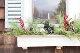 Christmas Window Box Decorations How to Decorate Your Window Boxes for Christmas Finding Silver 53