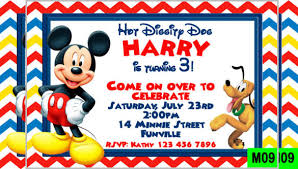 Mickey Mouse Invitation Templates 29 Free Psd Vector Eps Ai