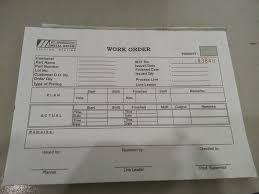 Internship E Portfolio Daily Plan Form Work Order Form