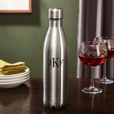 monogrammed growler a personalized gift for police officers