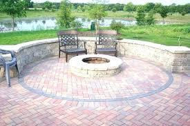 amazing concrete block fire pit concrete patio fire pit awesome ideas