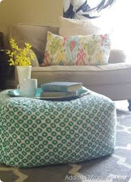 How To Make A Floor Pouf