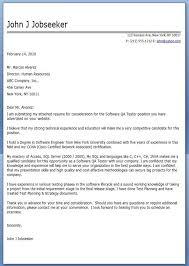 Software Qa Tester Cover Letter Sample Resume Cover Letter