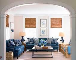 blue sofas living room: gorgeous navy blue sofa to decorating living room