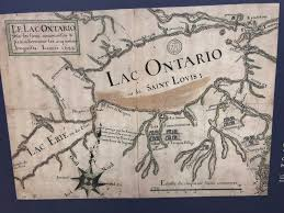 Lake Ontario Chart Map Old Map Of Lake Ontario And Lake Erie Infographic Tv