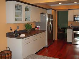 Cool Small Kitchen Cool Small Kitchen Ideas With Wooden Floor And Granite Countertop