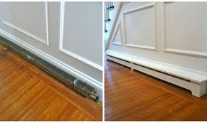 custom wood baseboard heater covers wooden thing