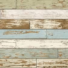 nuwallpaper multi color old m vintage wood l and stick wallpaper