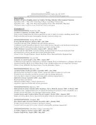 Ascii Resume Samples Ascii Resume Sample Format Resume How To Create A Plain Text