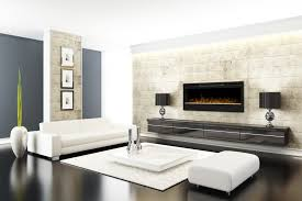 back to wall mounted electric fireplace