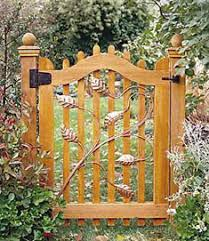 Small Picture Wood Garden Gate Designs Plans DIY Free Download Backyard Chicken