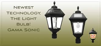 Post And Lamp Sets  Post Lighting  Outdoor Lighting  The Home DepotSolar Garden Post Lights