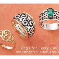James Avery Ring Size Chart James Avery Artisan Jewelry Jewelry Store In Lubbock