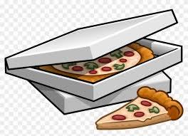 pizza box clipart. Plain Box Pizza Clipart Box  On