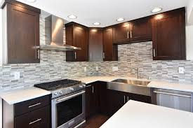 contemporary kitchen with corian solid surface countertop