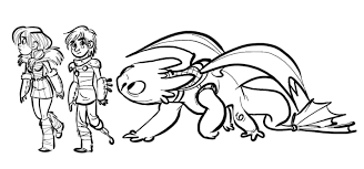 Toothless The Dragon Coloring Pages Printable For Kids 2018 1600749