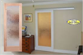 contemporary home office sliding barn. Contemporary Home Office Sliding Barn. Glass Barn Doors For The Beautiful