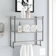 wall shelves bathroom wall shelves