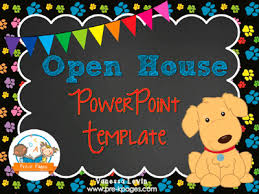 Open House Powerpoint Dog Open House Powerpoint Pre K Pages