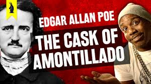 thug notes classic literature original gangster wisecrack the cask of amontillado <br >by edgar