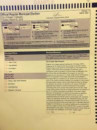How To Make Ballots On Microsoft Word Ballots Sent To Underage Voters In City Election