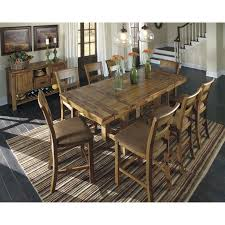 extendable dining room table by signature design by ashley. skyrim table signature design by ashley krinden counter height extendable dining table room
