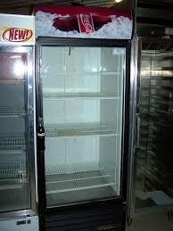 15956 true 1 glass door display refrigerator merchandiser e dec