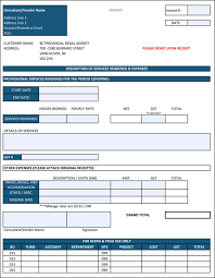 Contractor Invoice Template Excel Construction Invoice Template 100 Contractor Invoices 68