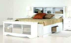 white bookcase storage bed.  Storage Twin Bed Headboard With Shelves Bookcase Storage  Throughout White Bookcase Storage Bed O