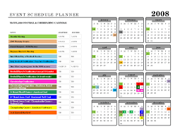 Sample Schedules Schedule Sample In Word Event Schedule Template Word Tvsputniktk 10