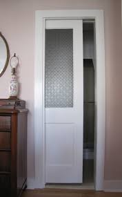 french frosted glass doors