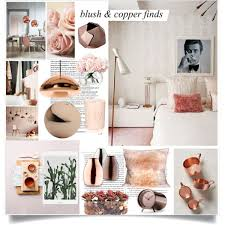 Small Picture Blush and Copper Finds Polyvore