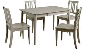 table and 4 chairs. sadie dining table \u0026 4 chairs - grey | tables george at asda and t