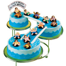 Big Splash Birthday Bash Cake Wilton