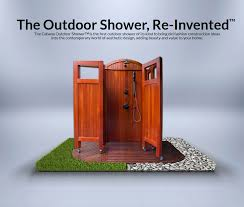 outdoor shower. Outdoor Shower | Cabana ™ - The That Adapts To You