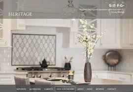 Kitchen Design Website Classy Kitchen Website Design Heritage Kitchen Bath R 48