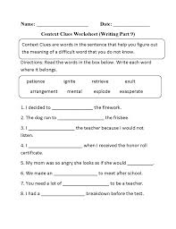 When Did It Happen Inference Worksheets Pinterest Context Clues ...