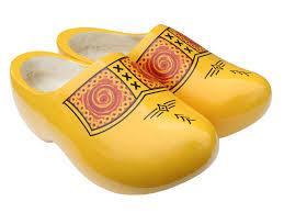farmer clogs yellow