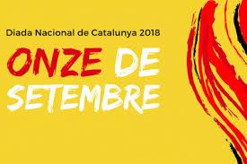 Resultado de imagen de diada de catalunya 2018