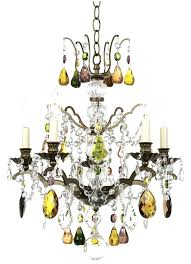 multi colored chandelier crystal collection color mini