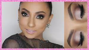 maquillaje neutro con colores oscuros glam makeup tutorial andy lo