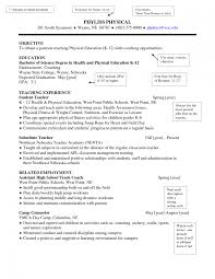 Higher Education Resume Examples Sevte