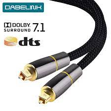 Coaxial SPDIF Cable Dolby 7.1 Soundbar 5.1 Digital Optical Audio Cable  Toslink Fiber Cable for Amplifiers Player Xbox 360|